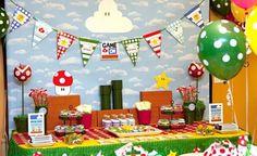 Aniversário Mario Bros – Blog da Cristal Festas