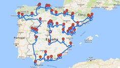 un primer mapa que agrupa los pueblos más bonitos de España según la asociación oficial que se encarga de seleccionarlos. Pero para armar este itinerario desde el blog, nos tomamos la libertad de completar la lista agregando más …