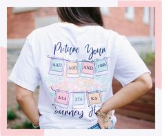 Are we the only ones dreaming of bid day excitement? It's time to start planning! 🤩 Bid Day T-Shirt Bid Day, Mens Tops, T Shirt, Fashion, Supreme T Shirt, Moda, Tee Shirt, Fashion Styles, Fashion Illustrations