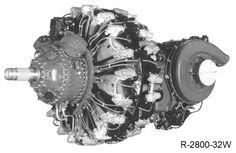 """Pratt & Whitney R-2800 """"Double Wasp"""""""