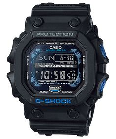 Shop men's and women's digital watches from G-SHOCK. G-SHOCK blends bold style with the most durable digital and analog-digital watches in the industry. G Shock Watches Mens, Sport Watches, Cool Watches, Watches For Men, Men's Watches, Mens Digital Watches, Black Watches, Dress Watches, Stylish Watches