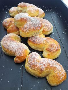 Sukkeresser! Bagel, Doughnut, Hamburger, Bread, Baking, Desserts, Food, Tailgate Desserts, Deserts