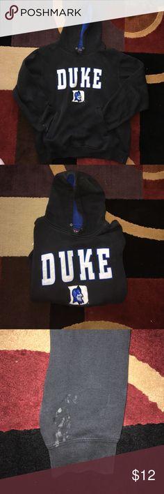 Duke sweatshirt!  Has seen better days, definitely some wear to it. Nevertheless very comfortable and great sweatshirt to rep Duke Champs Tops Sweatshirts & Hoodies