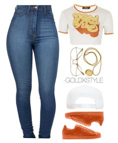 """SUNDAY."" by goldxstyle ❤ liked on Polyvore featuring Topshop"