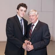 Scott Noddin, BComm'10 Young Alumni Award Service Awards, Suit Jacket, Jacket, Suit Jackets