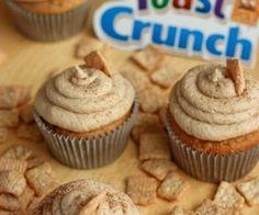 Cinnamon Toast Crunch Cupcakes :P