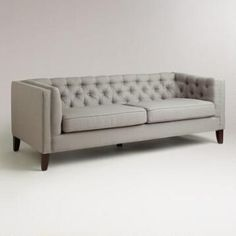 Fog Gray Kendall Sofa. Pull out couch