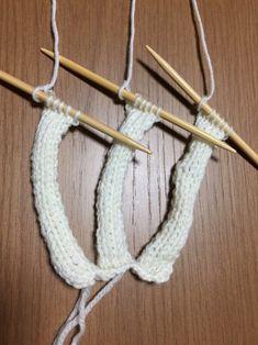 例えば、三つ編みのカチューシャの編み方は~   初心者でも編める!横浜:ワンちゃんのニット服編み物教室