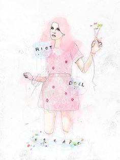 Personal work - Riot doll escape