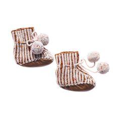 shopminikin - Misha and Puff Scout Pompom Booties, Nutmeg, $68.00 (http://www.shopminikin.com/misha-and-puff-scout-pompom-booties-nutmeg/)