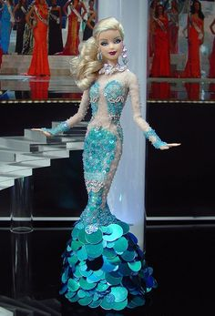Mermaid in sequins