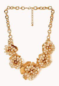Opulent Floral Bib from Forever21