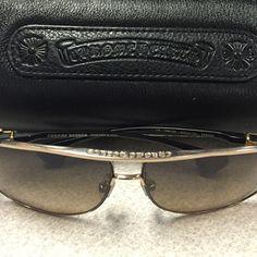 16c32b7954b Chrome Hearts Accessories - Chrome Hearts Hank Sunglasses