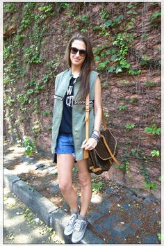 LOOK DO DIA COLETE + SNEAKER