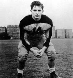 Jack Kerouac in his Columbia University football uniform, c. 1940