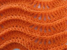 Meladoras Creation  |  Lacy Zig Zag Ripple Stitch – Free Crochet Pattern (Instructions and 2 videos, one right and one left-handed)