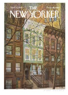 The New Yorker Cover - April 12, 1969 Regular Giclee Print