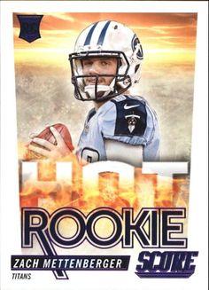 2014 Score Hot Rookies #HR26 Zach Mettenberger      mint from pack