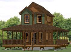 12x20 Tiny Houses PDF Floor Plans | eBay