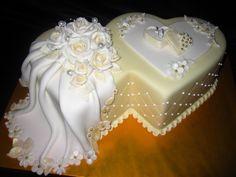 Wedding Cake Display, Wedding Dress Cake, Wedding Anniversary Cakes, First Apartment Decorating, Valentine Day Wreaths, Cool Birthday Cakes, Specialty Cakes, Beautiful Wedding Cakes, Cake Art
