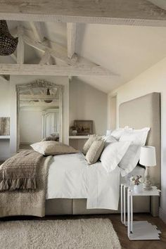 .Neutral colors for a relaxed atmosphere in your rest space