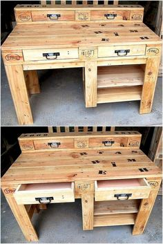 Attractive diy wodden pallet furniture projects (34)