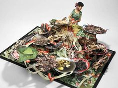 Journalistic Pop-Up Books by Colette Fu: Capturing the Diversity of China's Southwest Yunnan Province
