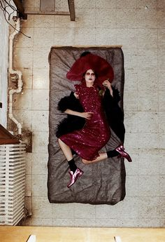 Marie Piovesan for Marc Jacobs F/W 2012 by Juergen Teller
