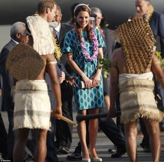 Brave face: Prince William and Kate's tour of Southeast Asia and the South Pacific has been overshadowed by the publication of the infamous topless pictures