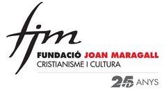 Logo Fundació Joan Maragall, 2013 (25 anys, 2014). #design #religion #culture #branding