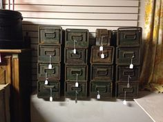 Industrial Military Metal Storage by KeyportHoneyHole on Etsy