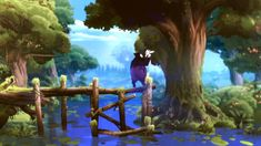Trailer, Screenshots and Artwork of action-adventure Ori and The Blind Forest