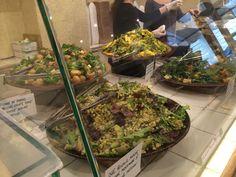 @ottolenghi inspired salads @twentypeas in Paris