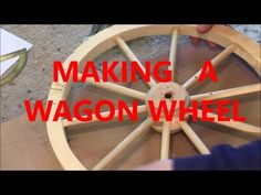 plans to build cart for miniature horse Diy Wood Projects, Wood Crafts, Woodworking Projects, Projects To Try, Outdoor Projects, Wooden Wagon Wheels, Wooden Wheel, Wagon Planter, Toy Wagon