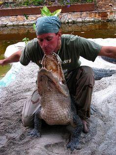 Alligator Wrestling in the Everglades