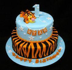 Tigger 1st Birthday Cake