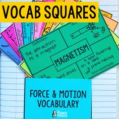 10 Ideas for Science Vocabulary Vocabulary Activities, Vocabulary Words, Lake Floats, Learn Science, Science Penguin, Elementary Science, Student Learning, Definitions, Education