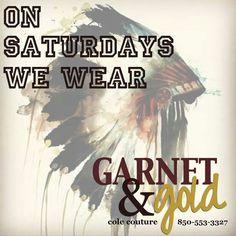 And on Saturdays, we wear Garnet & Gold! @Amber Helms @Megan Ward Maxwell @Jess Pearl Pearl Wolff