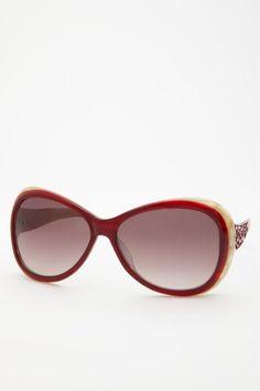 Judith Leiber  Women's Moroccan Oval Sunglasses  $149.00