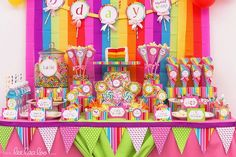 candy land sweet shoppe birthday party ideas projects to try rh pinterest com candyland candy table ideas candyland candy buffet ideas