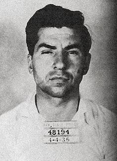 """Salvatore Lucania,Charles """"Lucky"""" Luciano (1897-1962) Luciano crime family boss"""