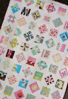 I'm so happy that my City Sampler Quilt is finished!     This quilt is made up of 70 blocks from Tula Pink's book   City Sampler, 100 Moder...
