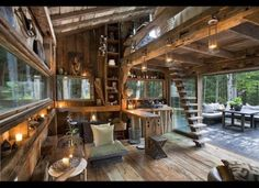 A Casa Rústica de Richard Olsen | Maria Rosa Mulher