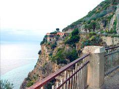 Amalfikysten, Italia. dit vil jeg