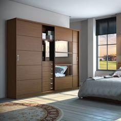 Found it at Wayfair - Adrian Armoire Wardrobe Design Bedroom, Bedroom Bed Design, Bedroom Furniture Design, Bedroom Wardrobe, Modern Bedroom Design, Home Interior Design, Wardrobe Door Designs, Closet Designs, Bedroom Cupboard Designs