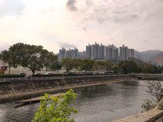 Today I am detailing the cycling path from Tai Wai (Sha Tin) to Tai Po or Tai Mei Tuk. Hong Kong, Paths, New York Skyline, Tin, Cycling, My Style, Travel, Biking, Viajes