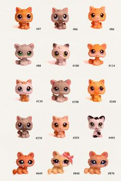 Lps Numbers To Lps Cats Bigger Picture