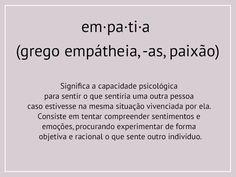 O exercício da empatia - My Lifestyle