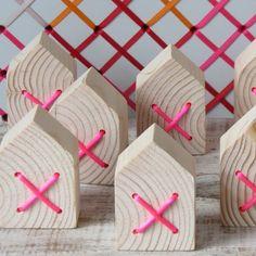 Flex Inredning: Små trähus med fina kryss
