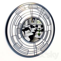 Modern Mirror Circular 3d Mirror, Home Appliances, Models, Design, House Appliances, Templates, Kitchen Appliances, Design Comics, Modeling